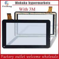 Protector táctil Sunstech Tab727QC, Digitalizador de panel táctil, vidrio de sustitución con Sensor, 7