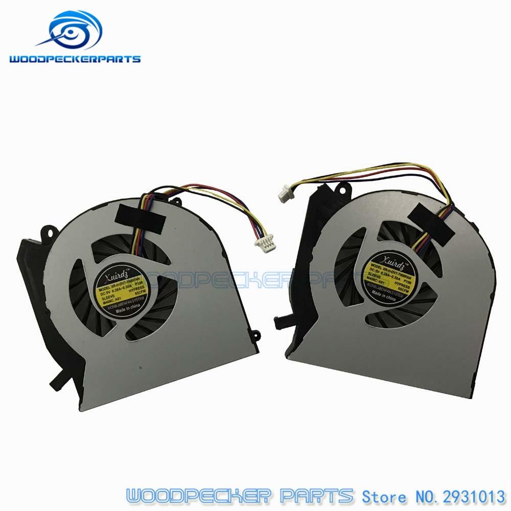 NEW Laptop CPU fan For HP For Pavilion DV6-7000 DV6 DV7-7000 DV7 cpu cooling fan cooler good quality 4530s laptop fan for hp probook 4535s 4730s cpu cooling fan new original 8460p 6460b laptop cpu cooling fan cooler