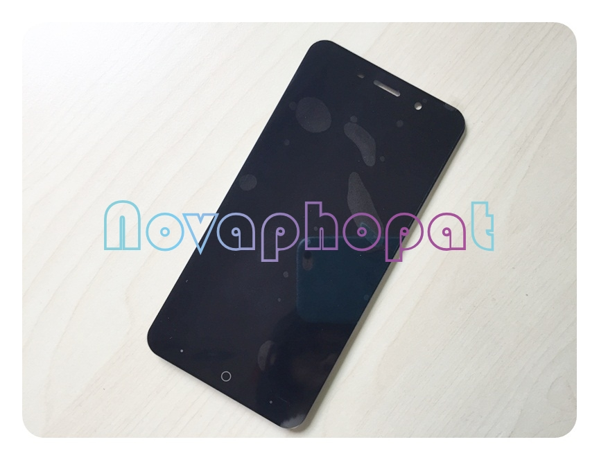 Novaphopat Black/White/Golden <font><b>LCD</b></font> <font><b>Display</b></font> For <font><b>ZTE</b></font> <font><b>Blade</b></font> <font><b>A602</b></font> Touch Screen Digitizer With <font><b>LCD</b></font> <font><b>Display</b></font> Assembly Replacement image