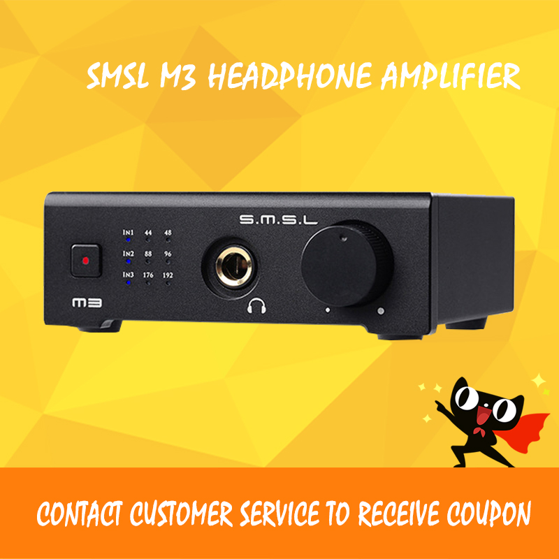 ASD SMSL M3 HIFI 2.0 24bit/192kHz DAC USB/Optical /Coaxial /Decoder Digital Audio Headphone Amplifier amp CS4398CZZ Black new version smsl latest 6th sanskrit 32bit 192khz coaxial spdif optical usb dac hifi audio amplifier decoder with power adapter