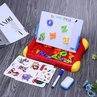 Bebé niños early educativo dibujo juguete alfabeto colorido magnético Pizarras para dibujar juguetes dibujo escritura juguete pintura garabato