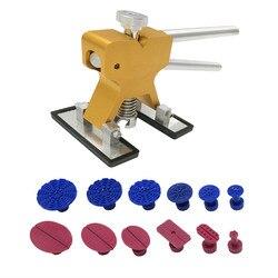Dent lifter puller Ausbeulen ohne Reparatur Werkzeuge Set PDR Goldene Dent Lifter Hagel Reparatur Dent Entfernung PDR Werkzeuge