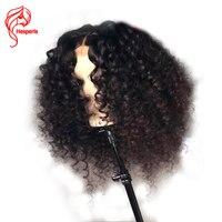 Hesperis Синтетические волосы на кружеве натуральные волосы парики предварительно сорвал с волосы младенца 150 Плотность 13x6 Brazlian Волосы remy бодр