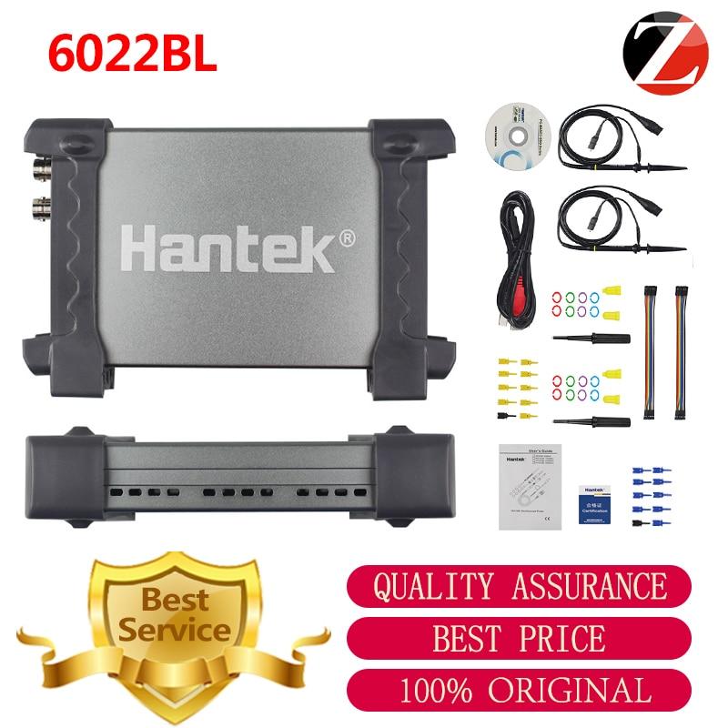 Hantek USB Oscilloscope 6022BL Digital Portable Oscilloscope 2Channels 20MHz PC 16CH Logic Analyzer Car detector