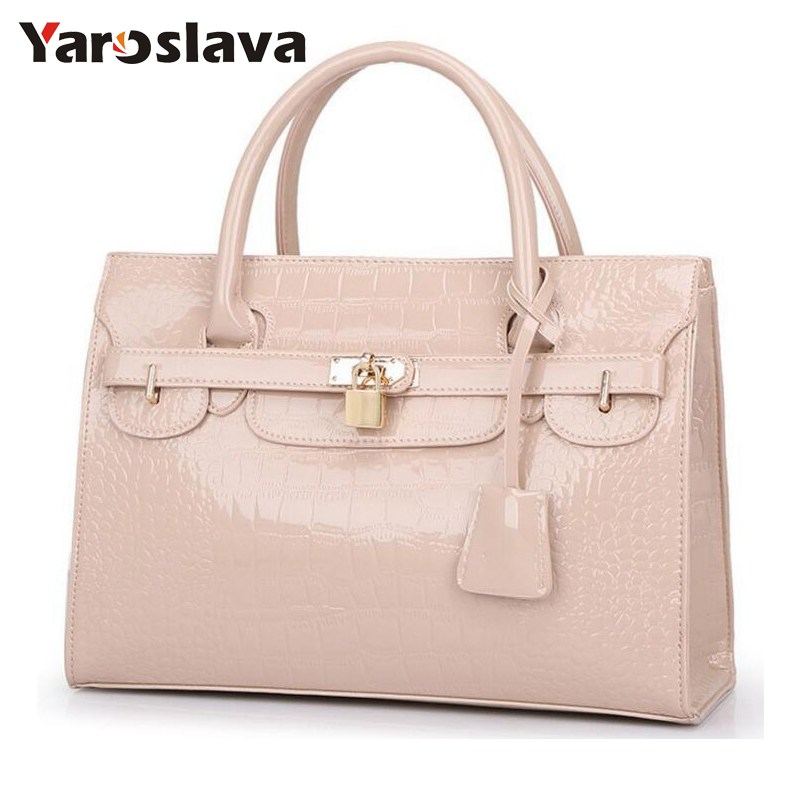 2018 famous brands designer new Crocodile pattern platinum bag handbag small leather Women shoulder bags Messenger bags LL667