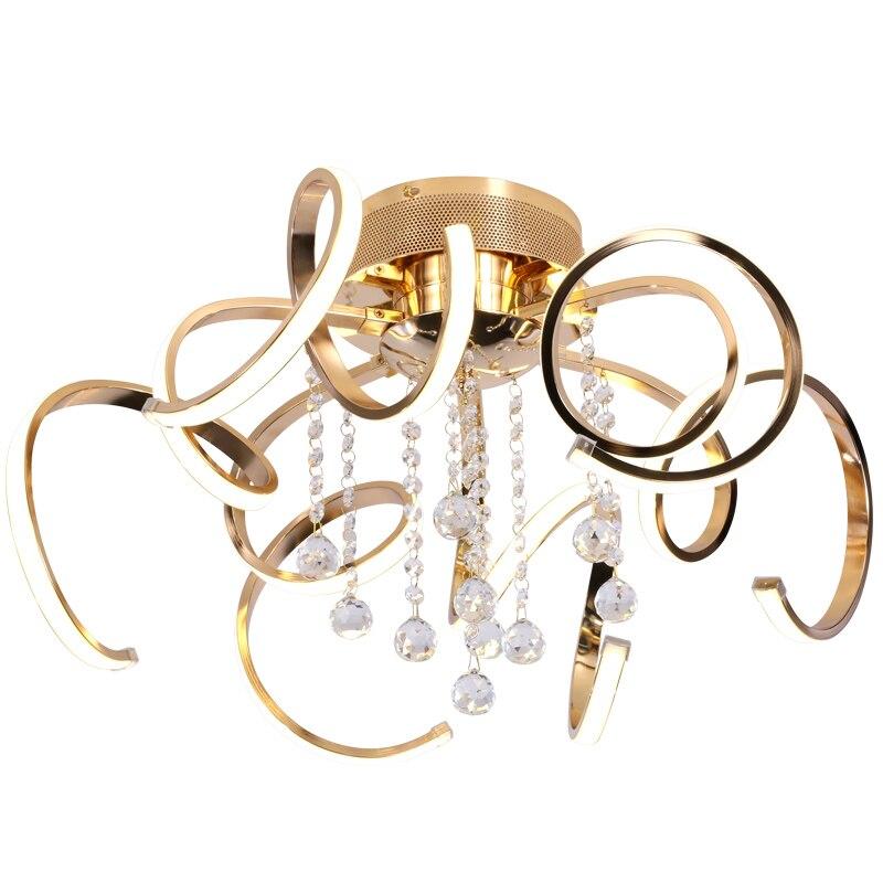 Modern Luxury Art Led Luster Crystal Chandeliers Bedroom Lamp Dining Room Acrylic Chandelier Lighting Fixture Attractive Designs; Chandeliers
