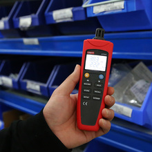 Uni-t UT331 Digital termo higrometro termometro temperatura umidade medidor de Tester w / LCD Backlight & USB
