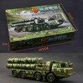 4D plástico montado defensa aérea lanzamiento de misiles vehículo 1 : 72 escala rompecabezas de montaje modelo militar juguetes para los niños