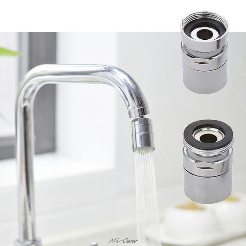 high quality brass water saving tap kitchen faucet aerator sprayer attachment with 360 degree swivel saving water tools
