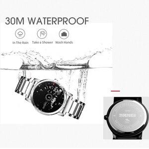 Image 2 - SKMEI Mens Quartz Watch Waterproof Full Steel Fashion Watches Top Luxury Brand Wristwatches Male Clock Relogio Masculino 1260