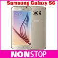 """Оригинальный Samsung Galaxy S6 G920 G925 Edge ЕС 5.1 """"Octa Ядро Смартфон мобильный телефон 16MP GPS Разблокирована Восстановленное Мобильных Телефонов"""