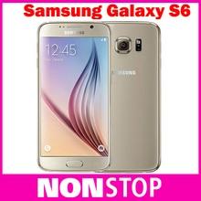 "Original samsung galaxy s6 g920 g925 edge ue 5.1 ""octa core smartphone celular 16mp gps abrió el teléfono móvil restaurado"