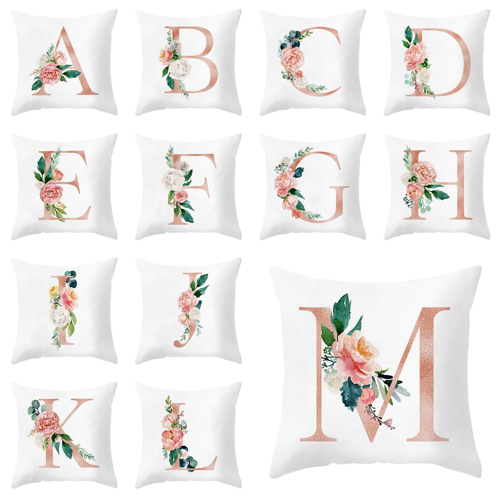 Toys & Hobbies Fashion Style 26pcs Cartoon Letter Pillow Kids Soft Toy Room Decoration Letter Pillow English Alphabet Polyester Cushion Cover For Sofa Pillow