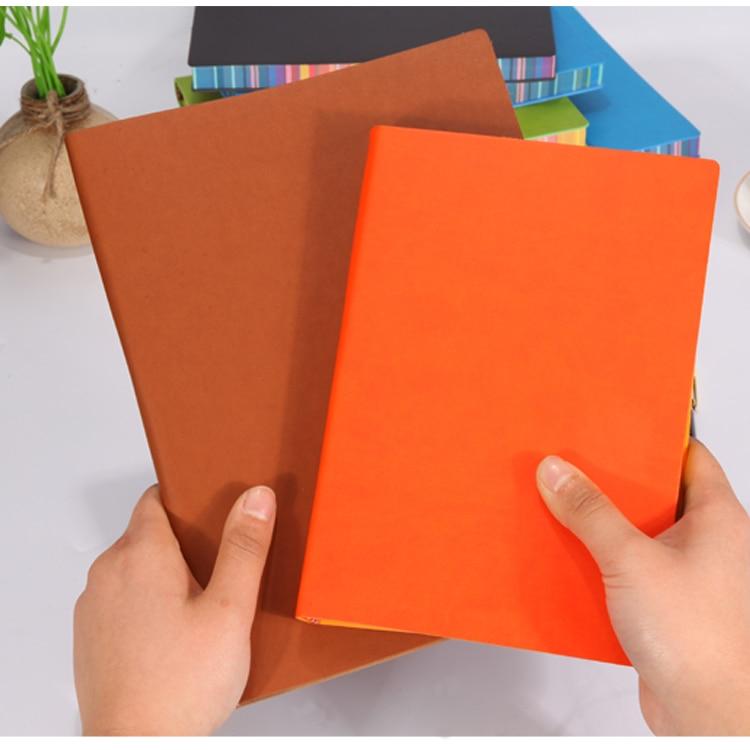 RuiZe měkký obal kreativní notebook kožený žurnál deník - Bloky a záznamní knihy - Fotografie 2