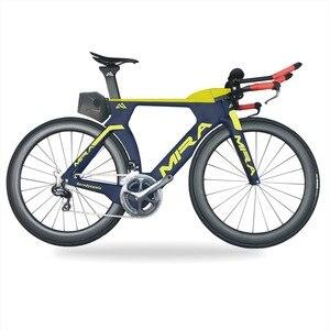 الترياتلون الدراجة الكربون TT R8060 Di2 TRP الكربون brake700x25c وقت المحاكمة الكربون دراجة