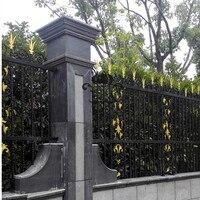HENCH сад кованого железа забор 8'x5' Стальной Забор поставщик Англия ограждение