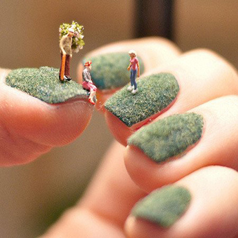 1pcs Fashion Nail Art Velvet Flocking Glitter Powder Dust Polish Uv Gel Tips