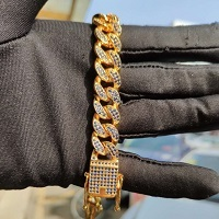 USENSET Iced Out Bling...