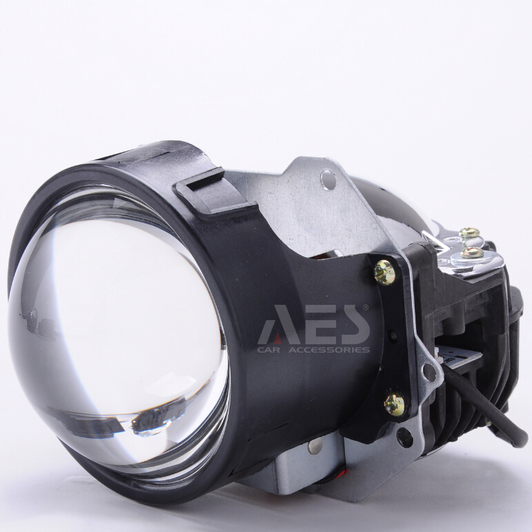 aes best quality bi led projector lens with import chips for car led h4 h7 headlights 2pcs auto. Black Bedroom Furniture Sets. Home Design Ideas