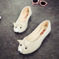 2017 Fashion Spring Summer Women Shoes Ballet Flats Womens Shoes Suede Cat Pattern Flats Sweet Loafers Woman Shoes Zapatos Mujer