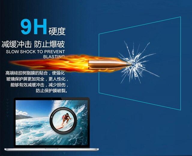 透明強化ガラススクリーンプロテクター用のmacbook proの13網膜モデル2015 a1502インチ高靭保護フィルム熱い販売