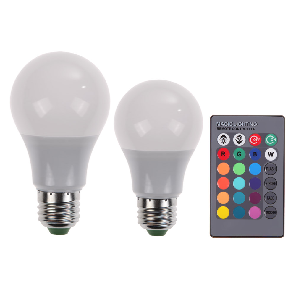 AC 85-265V 110V 220V 16 Colors Changeable RGB LED Light E27 10W /15W Christmas Decor Light Lamp+ 24 Key Remote недоруб сергей признаки жизни