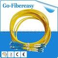 1.5 metros de Fibra Óptica Patch Cord LC para SC cabo de fibra monomodo Simplex 3.0mm PVC 5 pçs/lote