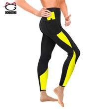 Gotoly женское неопреновое шорты для похудения с эффектом сауны низ с высокой талией Корректирующее белье снижение горячего пота тела формирователь для сжигания жира