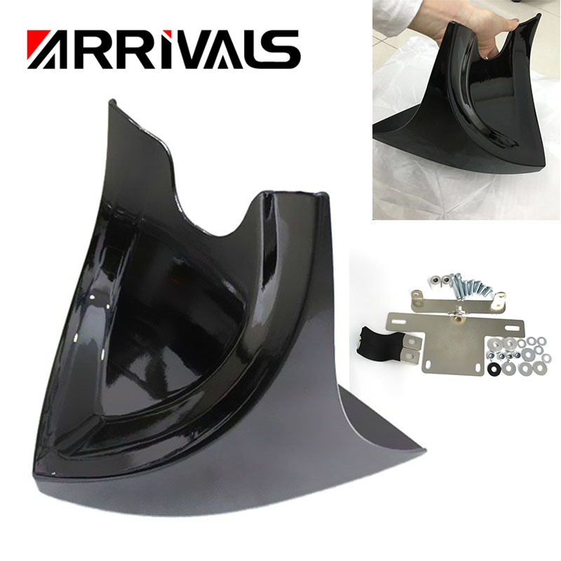 Chin Lower Front Spoiler Air Dam Fairing Cover for Harley Sportster Dyna Fatboy Softail V ROD