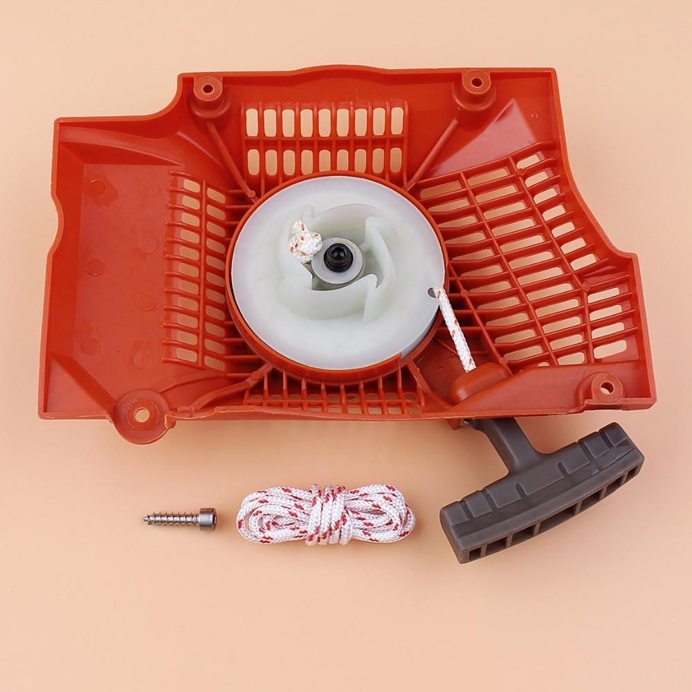 Recoil Starter Pull Rope Mount Screw Kit For Husqvarna 365 372 371 362 Chainsaw Parts 503 62 82-01Recoil Starter Pull Rope Mount Screw Kit For Husqvarna 365 372 371 362 Chainsaw Parts 503 62 82-01