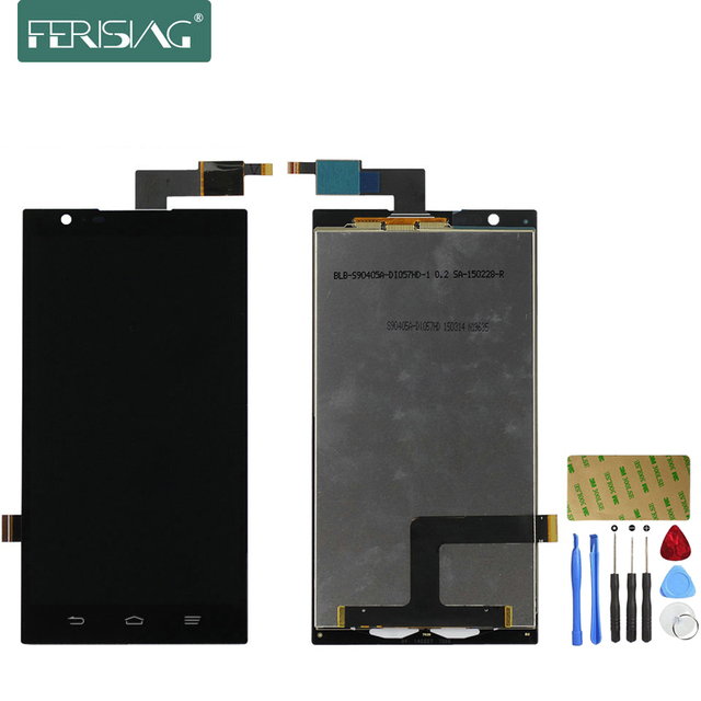 Ferising 100% AAA Original LCD Display For ZTE Zmax Z970 Replacement Display Touch Screen Digitizer Assembly + Tools kit