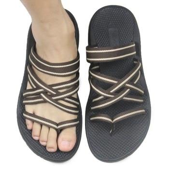 86434d353 Fashion Flip Flops 2015 New Authentic Vietnamese Shoes Sandalias Summer Men