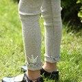 2016 Do Bebê do Inverno Da Menina Calças Leggings Leggins Meninas Algodão Crianças Outono Skinny Calça Crianças Leggings Meninas X1258