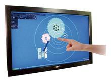 "42 "" de infrarrojos IR sensor multi pantalla táctil verdaderamente 2 puntos USB marco táctil IR 42 "" panel de tacto para windows XP / 7 / 8 y Android"