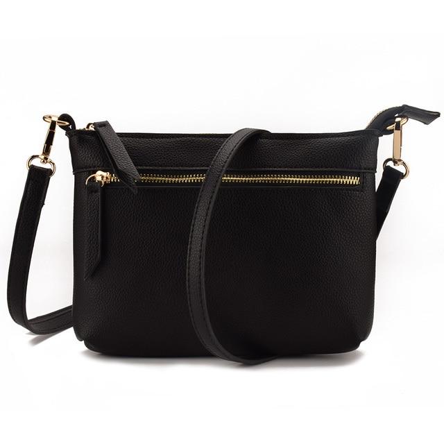 7ff8c7580173d JIARUO Small Women Leather Crossbody bag purses Belt Flap Shoulder bag mini  handbag hand bag adjustable