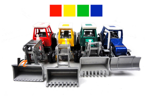 Image 2 - Promotion! Alloy Glide farmer engineering van car educational toys tractor scale models childrens toy