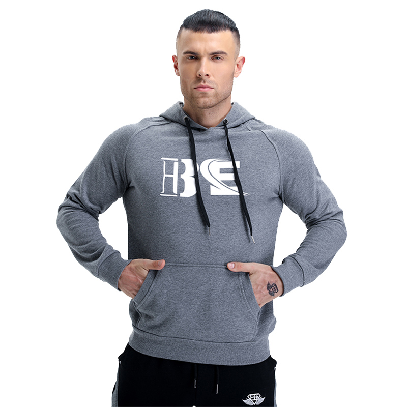 5120be23e54 Detector Men s Fitness Breathable Hooded Sweatshirt Pullover Hoodies Zipper  Slim Fit Running Jackets Gym Sportswear-in Hiking Jackets from Sports ...