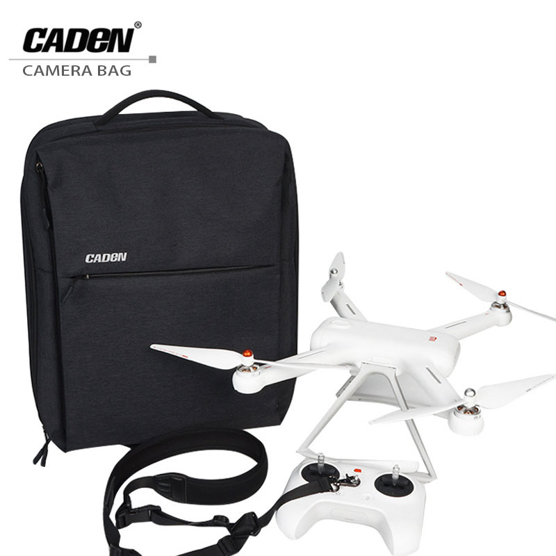 CADeN Drone Bag Backpack For Xiaomi W8 Multifunction Profession UAV Bags Business Travel laptop Backpacks Waterproof Nylon Case 17inch laptop backpack notebook hand bags men s computer bag laptop bag travel nylon backpacks business bag cf1718