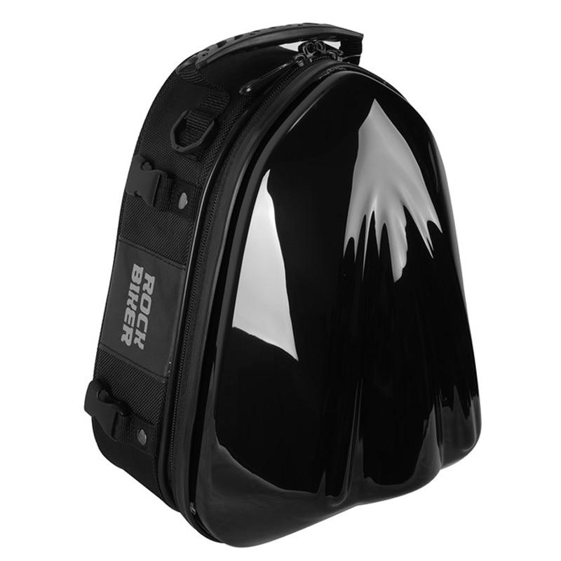Top Carbon Fiber Motorcycle Rear Seat Bag Motorbike Back Seat Bags Waterproof Motorcycle Luggage Travel Top
