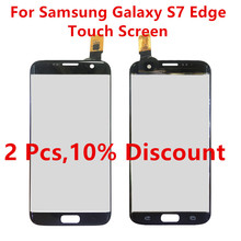 Touch Screen For Samsung Galaxy S7 Edge Digitizer Phone Panel G9350 G935 G935F Touchscreen For Samsung S7 Edge Replacement Parts