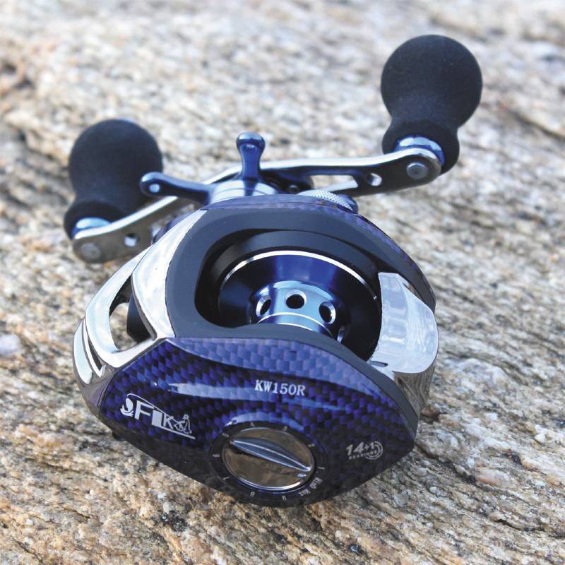 High Speed Baitcasting Reel 8+1 BB Top Quality Drag Power 4.5KG Right/Left Handed Fishing Reel top high speed full teeth piston