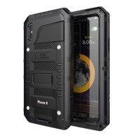 Luxury 3 Proofings Armor Case Metal Aluminum Dirt Shock Waterproof IP68 Case For IPhone 6 6s