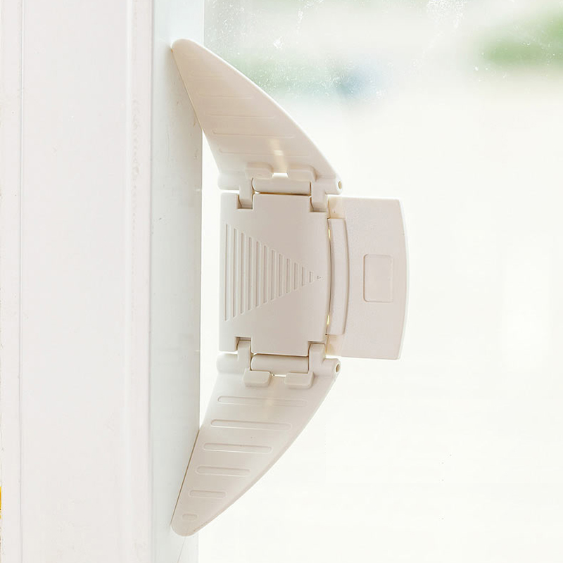 2PCS XHD Baby Sliding Doors and Windows Safety Lockbutton Child Window Safety Locks