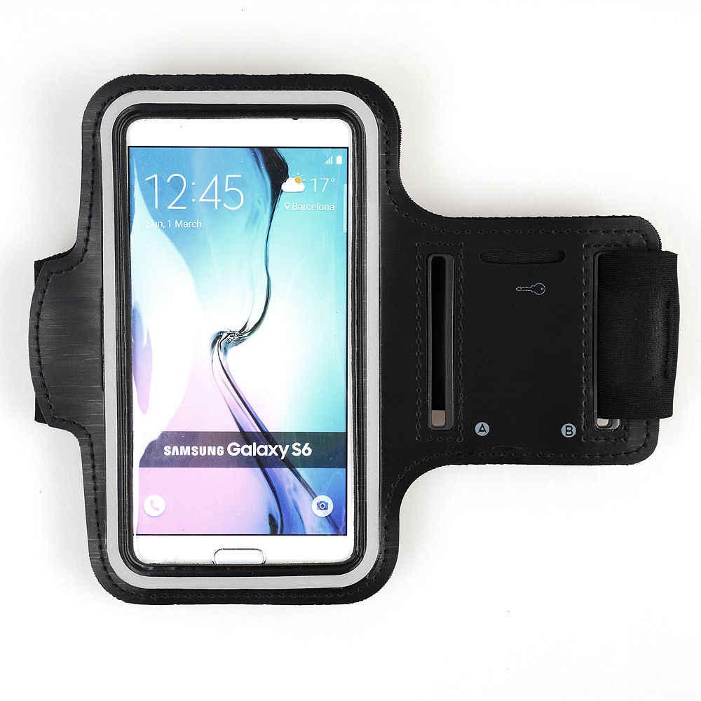 Do biegania sportowa opaska na ramię dla XiaoMi 9 SE RedMi Note 7 6 Pro Samsung S10 S10E uwaga 9 iphone 8 Plus X XR XS MAX nylonowe etui na telefony