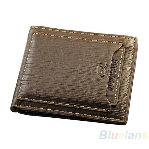 54284d5b461d Hot Brand New Designer Men Cow Leather Bifold Wallet Credit ID Card Holder  Slim Purse Clutch 02N7 4OG2