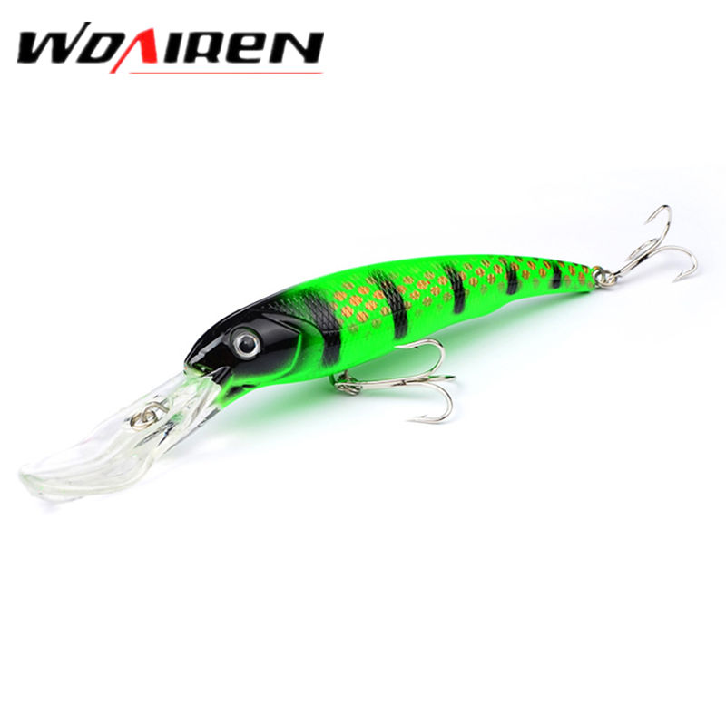 1Pcs 16.5cm 27.9g Minnow Fishing Lures Japan Deep swim Saltwater Hard Bait Artificial Wobbler Fish Swim Bait Diving 3D Eyes 1pcs 16 5cm 29g big minnow fishing lures deep sea bass lure artificial wobbler fish swim bait diving 3d eyes