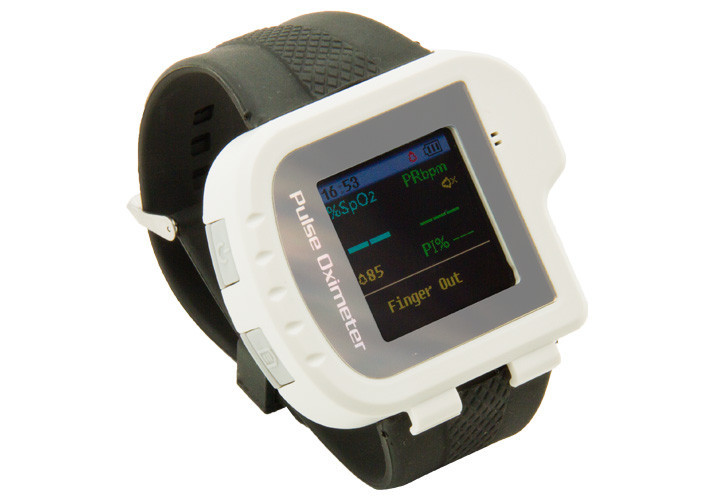 Image 3 - Wrist Oximeter Pulse Rate Monitor Sleep Study sleep apnea Detector Overnight Recording SPO2 Monitoring CONTEC CMS50I Well Packed-in Blood Pressure from Beauty & Health