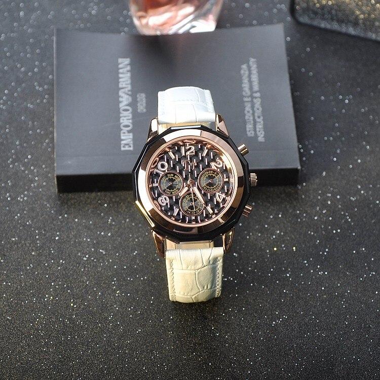 ФОТО 2017 New Luxury Creative Elegant Wristwatches Women Ladies Leather Quartz Watch Calender Week Display Watch relogio feminino