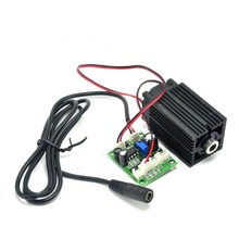 купить Dot Laser 980nm 200mW High Power Focusable Infrared IR Laser Diode Module with 12V 1A Adapter TTL modulation and Fan Cooling дешево