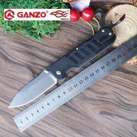58 60HRC Ganzo G735 440C Blade G10 Handle Multi Folding Knife Survival Camp Tool Hunting EDC